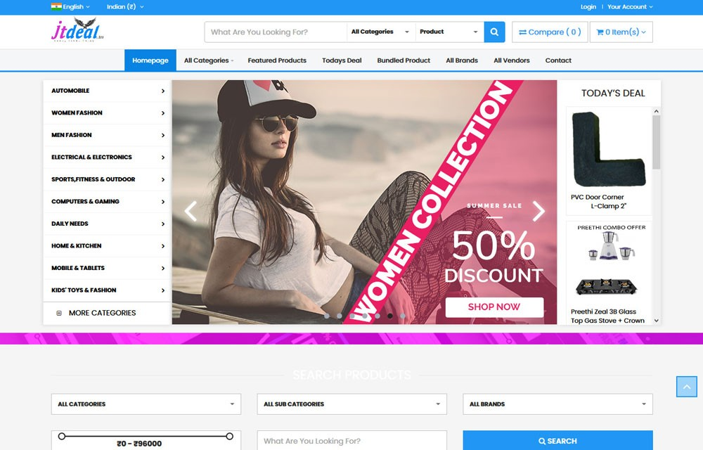 OpenCart Website Development
